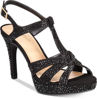 Thalia Sodi Verrda2 Embellished Platform Dress Sandals