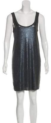 Vince Embellished Shift Dress