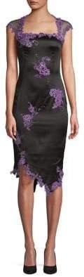 Mandalay Lace and Floral Sheath Dress