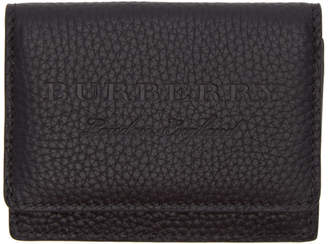 Burberry Black Soft Leather Wallet
