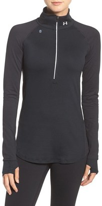 Under Armour 'Layered Up' Water Resistant Half-Zip Top $64.99 thestylecure.com