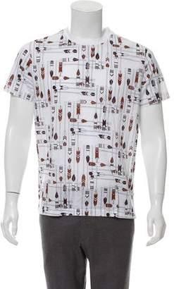 Hermes Printed Short Sleeve T-Shirt