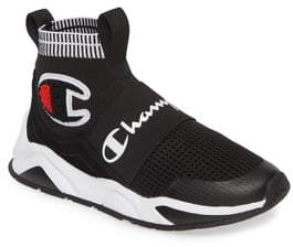 Champion (チャンピオン) - Champion Rally Pro High Top Sock Sneaker