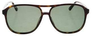 Gucci Tortoiseshell Tinted Sunglasses w/ Tags