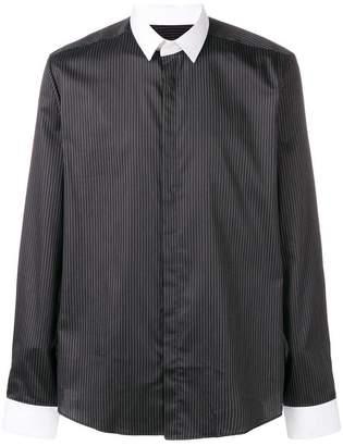 Les Hommes pinstripe shirt