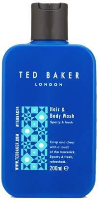 Ted Baker Hair & Body Wash 200ml Sporty & fresh
