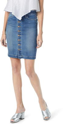 Joe's Jeans High Waist Denim Pencil Skirt