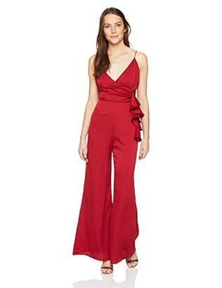 Keepsake Women's Breathe Jumpsuit, Red, (Size: M)