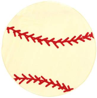 Fun Rugs Fun Shape High Pile Baseball Sports Area Rug Rug