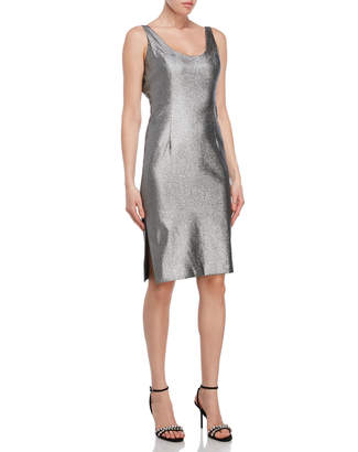 Milly Silver Bodycon Dress