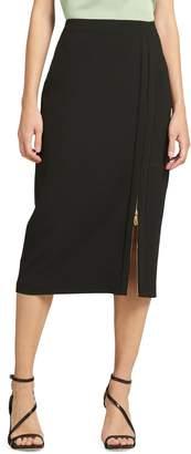 Donna Karan High-Waist Pencil Skirt