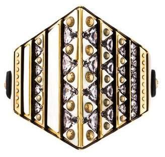 Louis Vuitton Crystal & Resin Statement Wrap Bracelet