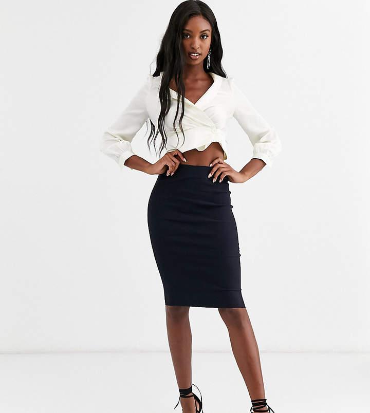 Asos Tall ASOS DESIGN Tall high waisted pencil skirt