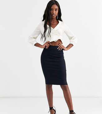 Asos Tall DESIGN Tall high waisted pencil skirt
