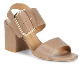 Stuart Weitzman City Leather Sandals