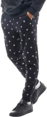 Converse Mens Star Chevron Sweat Pants Black