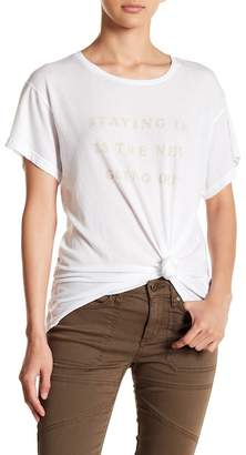 Wildfox Couture Let's Stay In Tee