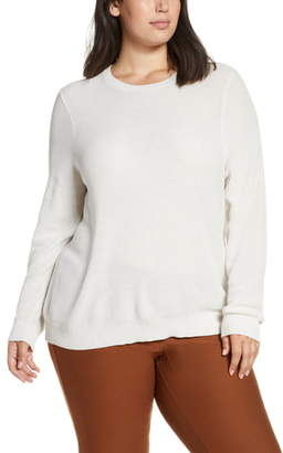 Eileen Fisher Open Knit Sweater