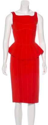 Amanda Wakeley Sleeveless Midi Dress