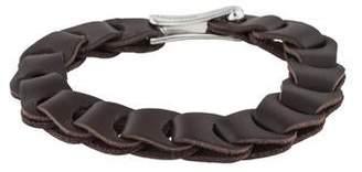 Tateossian Leather Wrap Bracelet