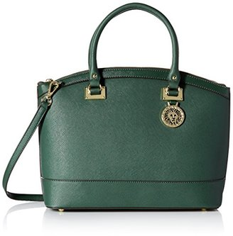 Anne Klein New Recruits Large Dome Satchel Bag $51.21 thestylecure.com