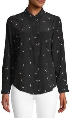 Rails Kate Lipstick Shirt