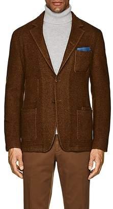 Boglioli Men's Galleria Herringbone Wool-Cashmere Jacket