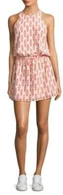 Joie Diega Ikat Silk Tank Dress
