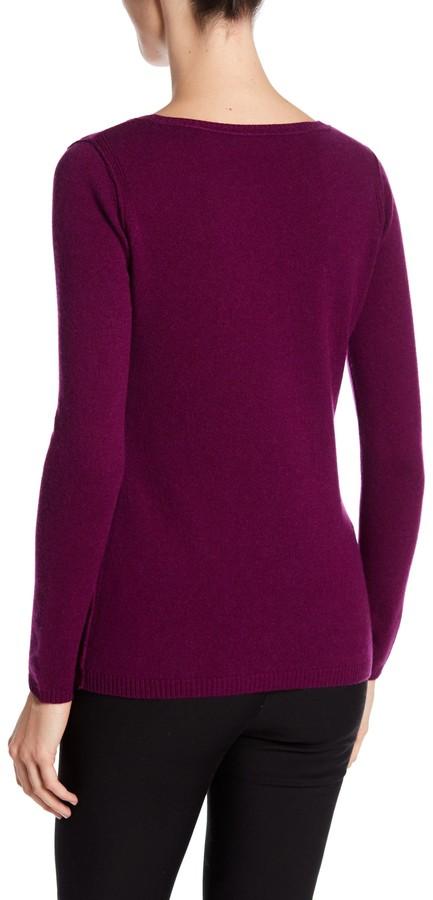 In Cashmere Cashmere Open-Stitch Pullover Sweater 26