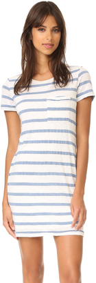 Splendid Cliffbrook Melange Stripe Dress $138 thestylecure.com