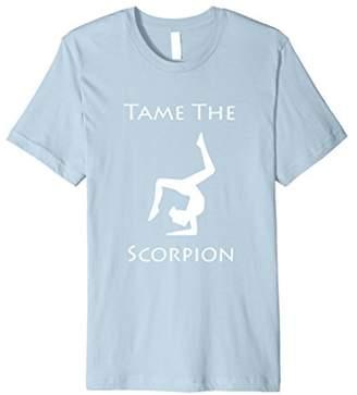 "Bad Yoga Shirts - ""Tame the Scorpion"""