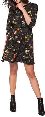 Dex Floral Fit--Flare Dress