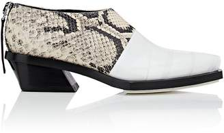 Proenza Schouler Women's Tape-Detail Leather Ankle Boots