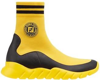 Fendi hi-top sock sneakers