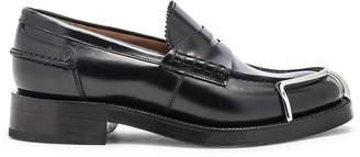 Alexander Wang Carter Spazzolato Loafer in Black | FWRD
