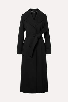 Stella McCartney Belted Cady Coat - Black