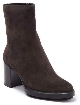 Aquatalia Ilyssa Weatherproof Suede Block Heel Boot
