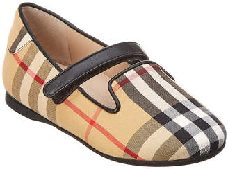 Burberry Checked Flat