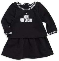 Givenchy Baby Girl's Long Sleeve Logo Dress