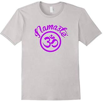 Namaste Purple Om Yoga Tshirt