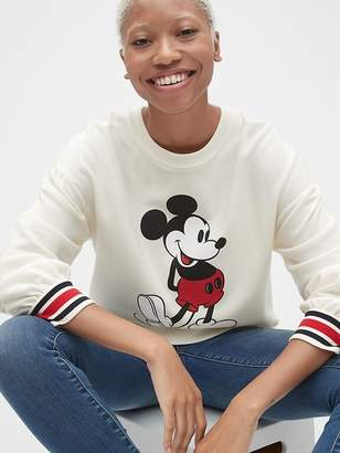 Gap | Disney Mickey Mouse Graphic Pullover Sweatshirt