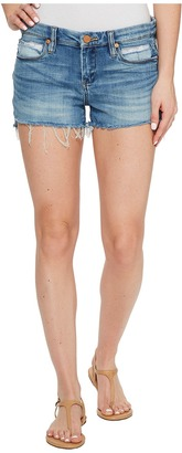 Blank NYC - Denim Cut Off Shorts in Inside Joker Women's Shorts $78 thestylecure.com