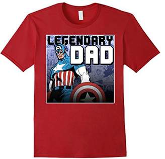 Marvel Captain America Father's Day Legend Graphic T-Shirt