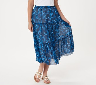 Linea By Louis Dell'olio by Louis Dell'Olio Tie Dye Boho Skirt