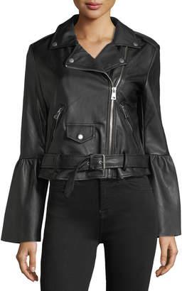 Bagatelle Vegan Leather Biker Jacket
