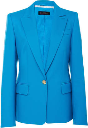 Escada Begastun Cotton-Blend Blazer
