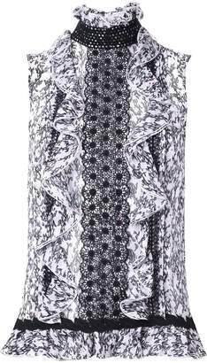 Giambattista Valli sleeveless blouse
