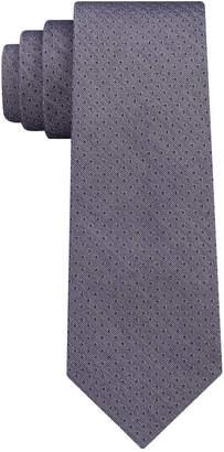 DKNY Men's Denim Pindot Slim Tie