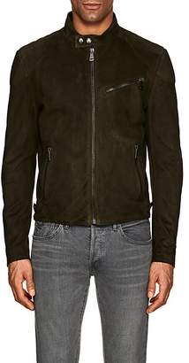 Ralph Lauren Purple Label MEN'S RANDALL SUEDE BIKER JACKET