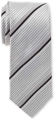 Kenneth Cole Reaction Wide Stripe Silk Tie